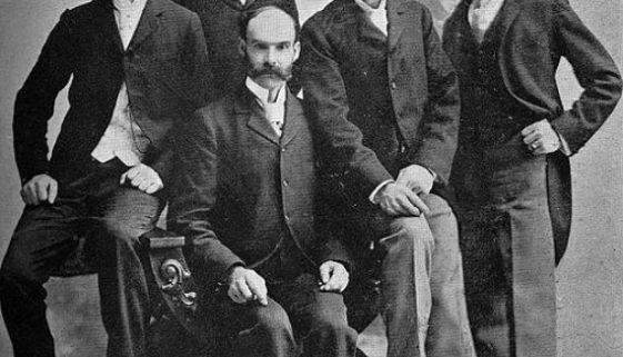 These Men Not Only Created Ball State University, But They Had Great Mustaches Too