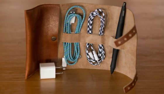 Cordito – a cool leather thingy for keeping your thingies in order.