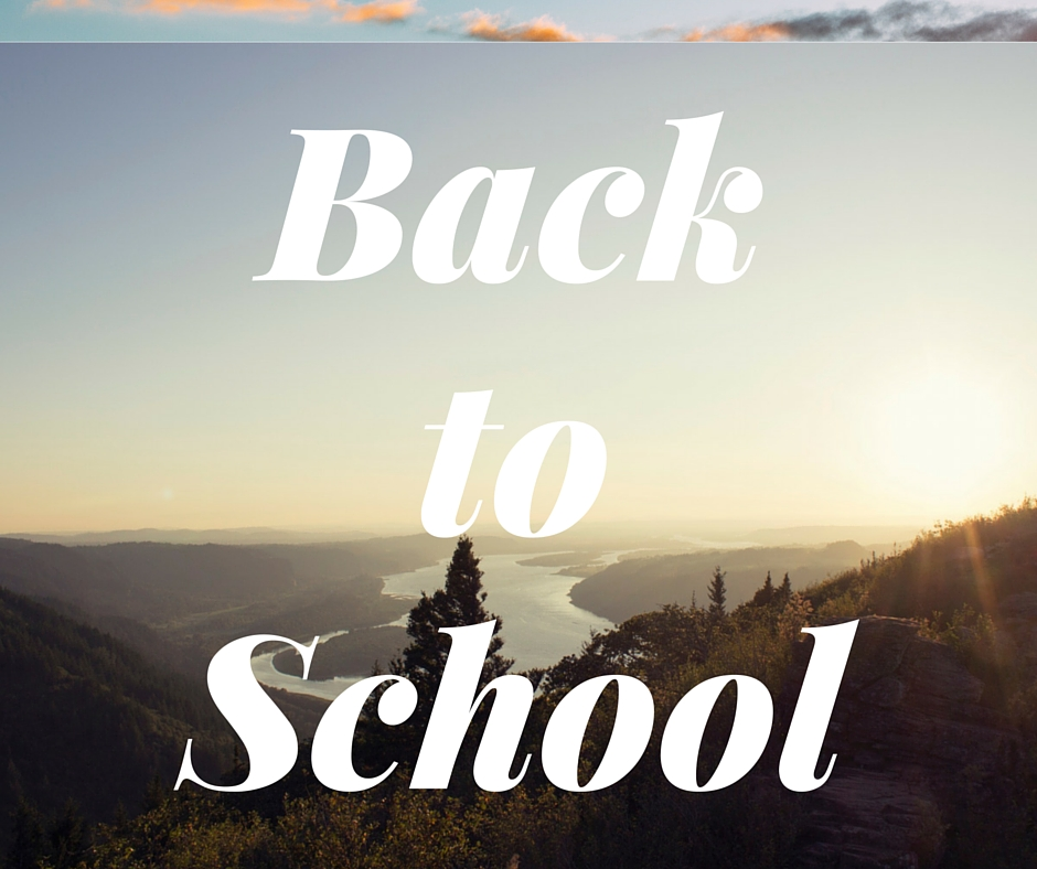 Back to School: Teach yourself