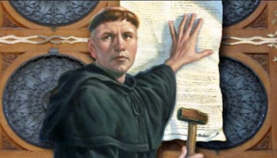 martin luther thesises