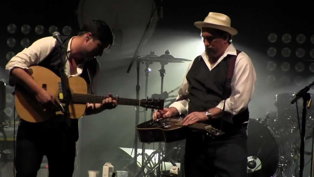 The Boxer – Mumford and Sons with Jerry Douglas #manlymusicfriday