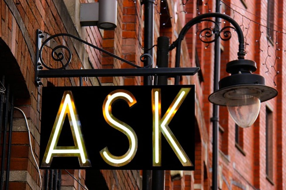ask a man any question