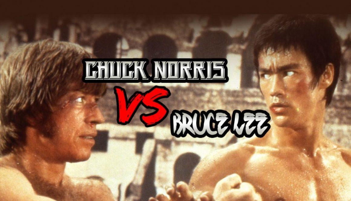 Chuck Norris Vs. Bruce Lee