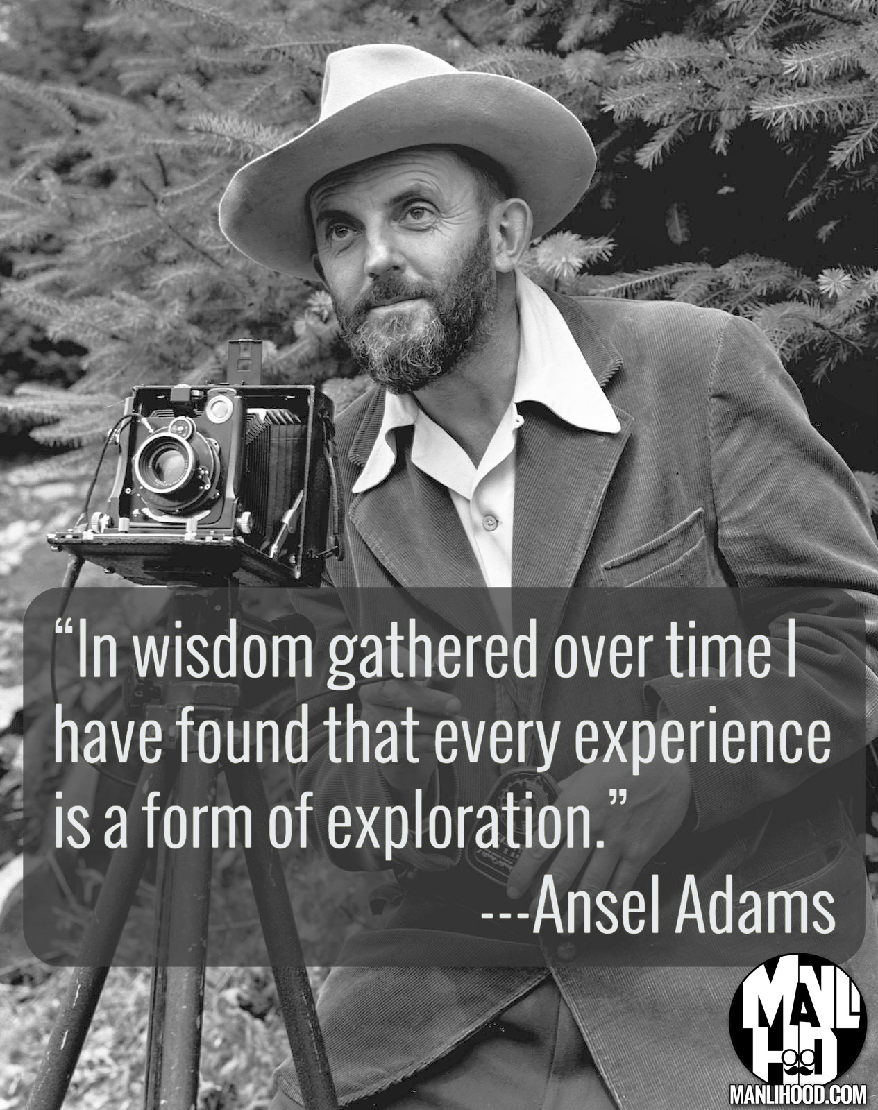 Ansel Adams #mancrushmonday