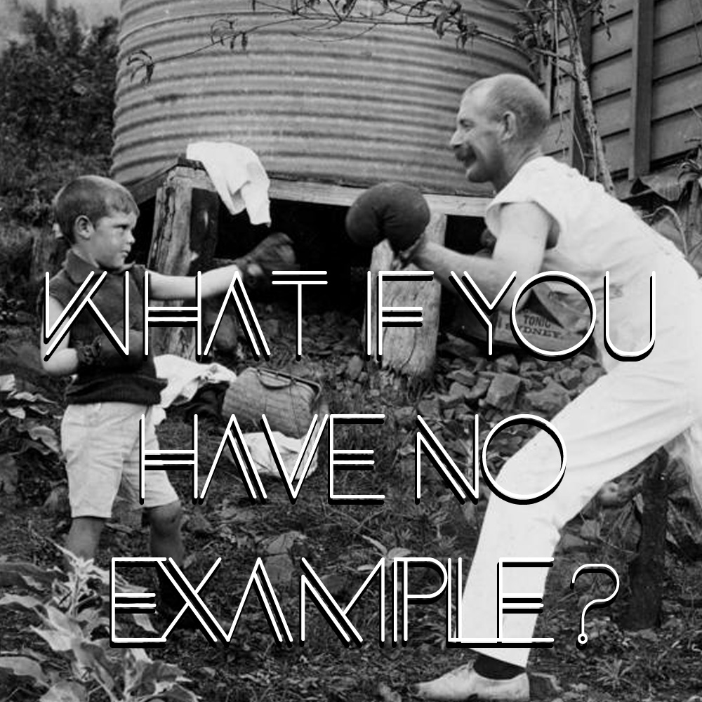 What if you have no example? Read