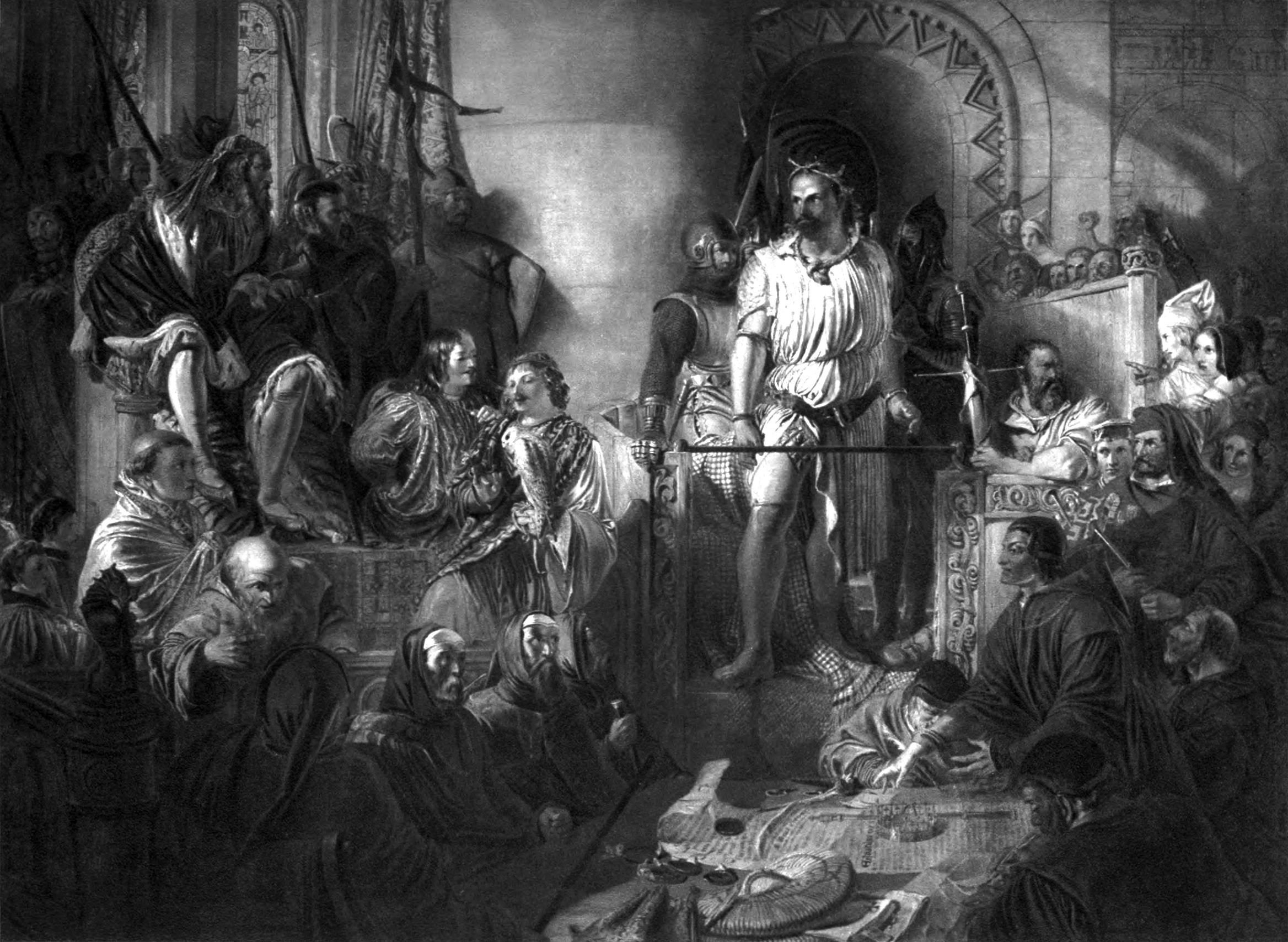 Daniel_Maclise,_R.A._-_The_Trial_of_Sir_William_Wallace