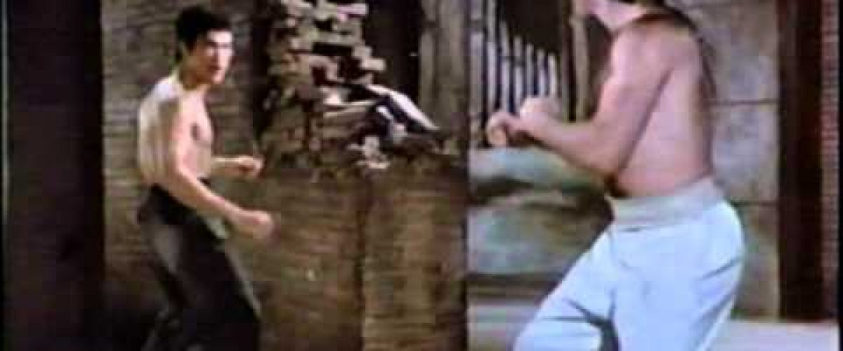 Bruce Lee vs Chuck Norris in epic movie battle