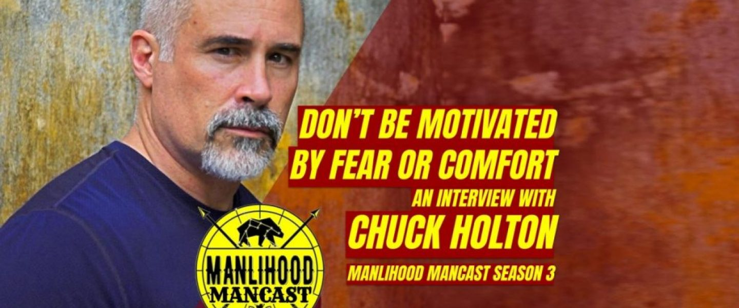 Chuck Holton, Author Making Men