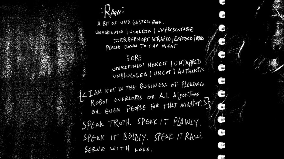 handwritten poetry by josh hatcher